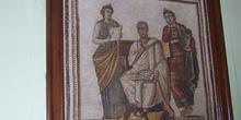 Virgilio y Las Musas, Museo del Bardo, Túnez