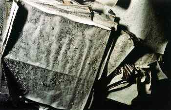 Polvo sobre papel