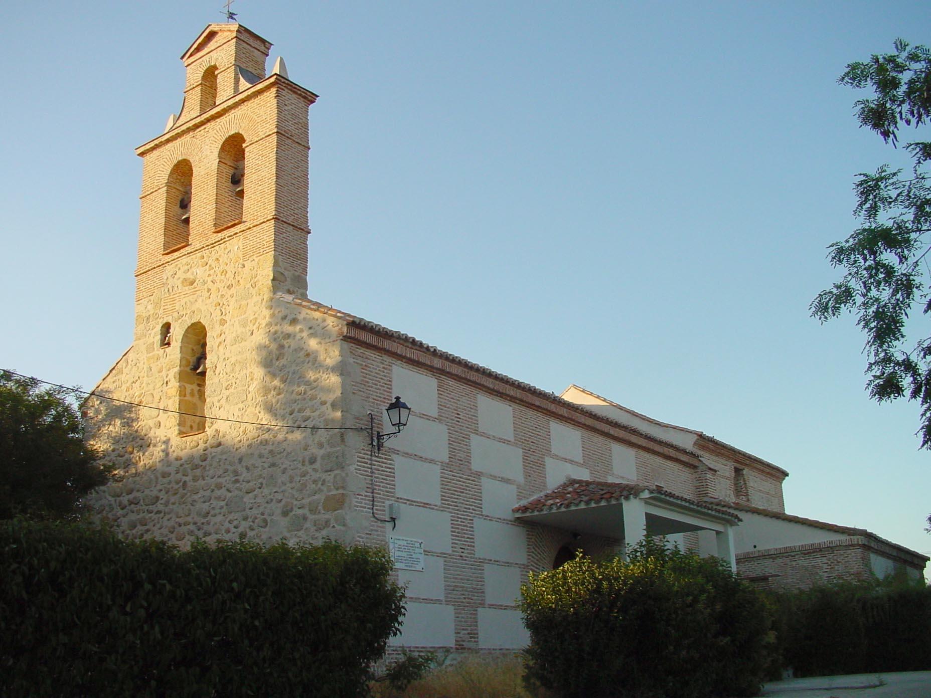 Iglesia en Villamantilla