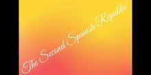 PRIMARIA - 6º - SOCIAL SCIENCE - SECOND SPANISH REPUBLIC - FORMACIÓN