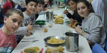 Fiesta del Antiguo Egipto. Comedor Escolar. Berceo I 10