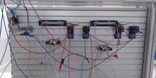 Funcionamiento circuito secuencia AB BA