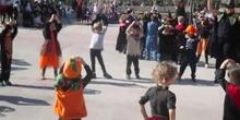 Halloween 2016. Baile alumnos de 4 y 5 años