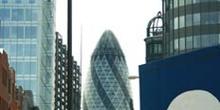 La City y Saint Mary Axe, Londres