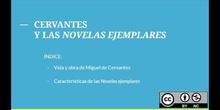 Cervantes y las Novelas ejemplares