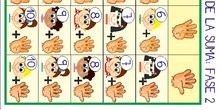 tarjetas fase 2 tabla suma