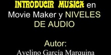 INTRODUCIR AUDIO EN MOVIE MAKER