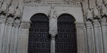 Pórtico del Perdón, Catedral de Ciudad Rodrigo, Salamanca, Casti