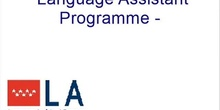 Language Assistant Programme – Preliminary Course