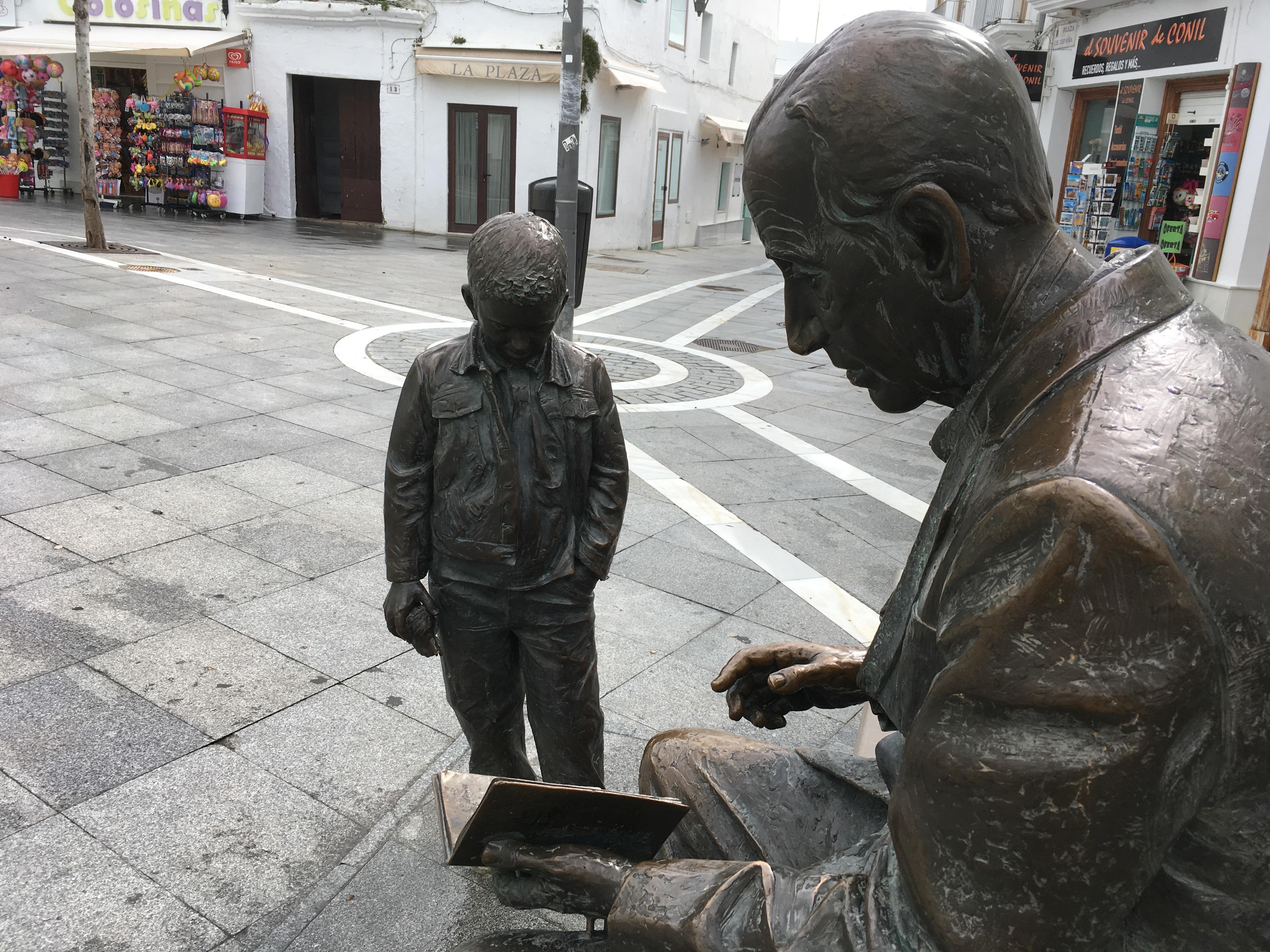 Monumento a José Saramago (Conil de la Frontera) 3
