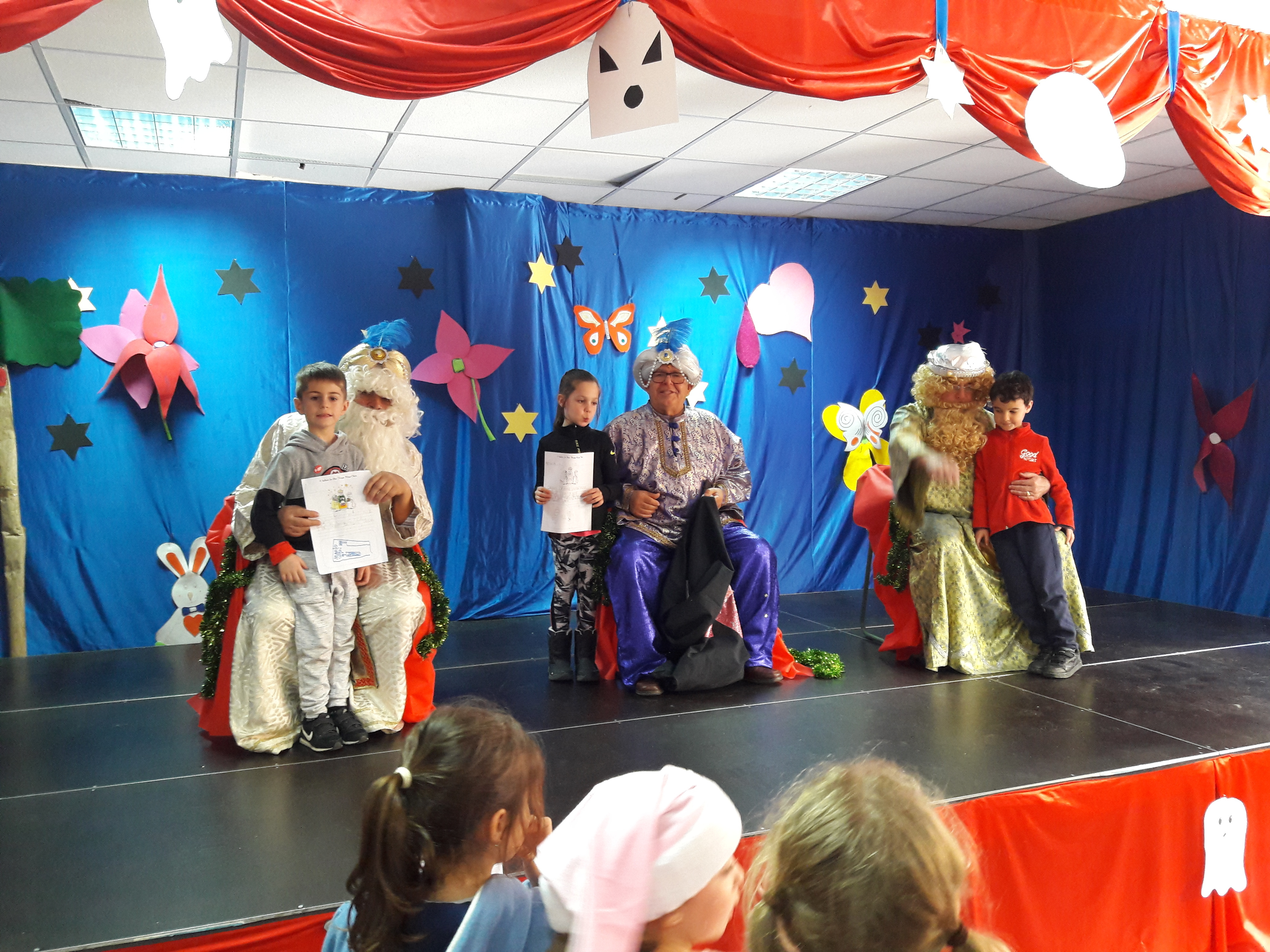 The Three Wise Men come to School 2