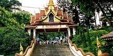 Entrada al Doi Suthep,Chiang Mai, Tailandia