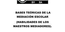 GUÍA CON BASES TEÓRICAS PARA LA MEDIACIÓN ESCOLAR