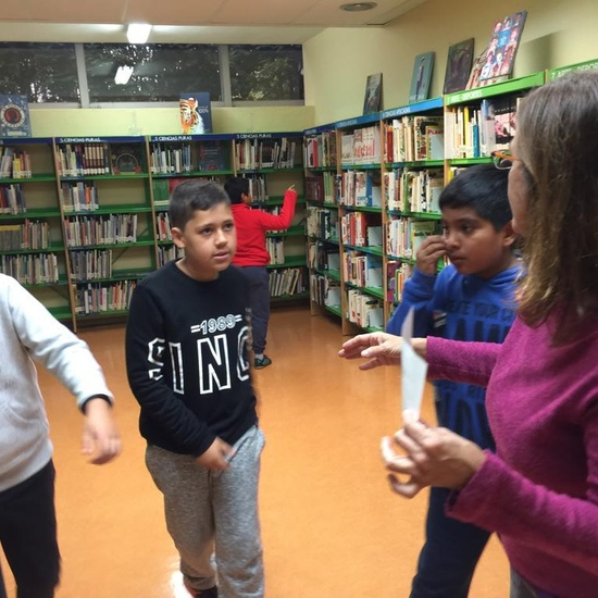 2019_Quinto B visita la biblioteca municipal_CEIP FDLR_Las Rozas 5