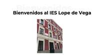 Jornadas Puertas Abiertas Humanidades y C.S. IES Lope de Vega