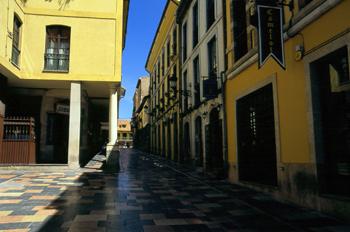 Calle Bances Candamo, Avilés, Principado de Asturias