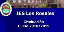 Graduacion 2019. Segunda parte: entrega de diplomas y clausura