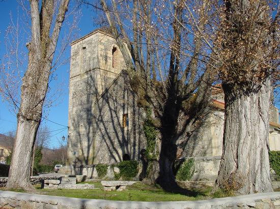 Frontal de la Iglesia de Alameda del Valle