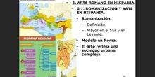 4. Arte en Hispania romana