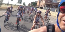 I Triathlon del Ceip Ágora de Brunete