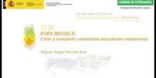 EVEX MOODLE: Crear y compartir contenidos educativos interactivos.