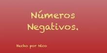 PRIMARIA- 6º- MATEMÁTICAS- NÚMEROS NEGATIVOS- NICO C.- FORMACIÓN