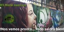 ¡Ánimo María Guerrero!