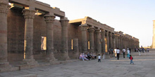 Columnas, Templo de Philae, Egipto