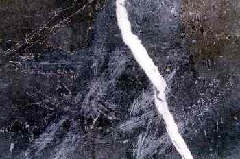 Plástico negro rallado