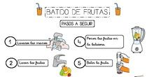 batido de frutas receta