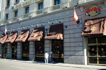 Hard Rock Cafe, Paseo de la Castellana, Madrid