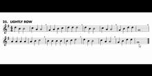 Lightly row - Saxofón