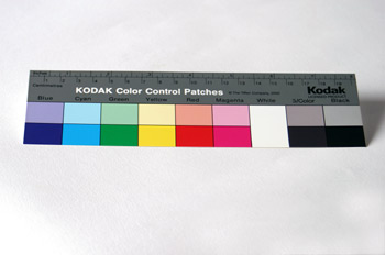Tarjeta de color Kodak