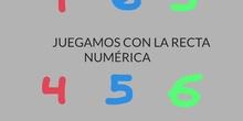 INFANTIL - 3 AÑOS - LA RECTA NUMÉRICA - FORMACIÓN