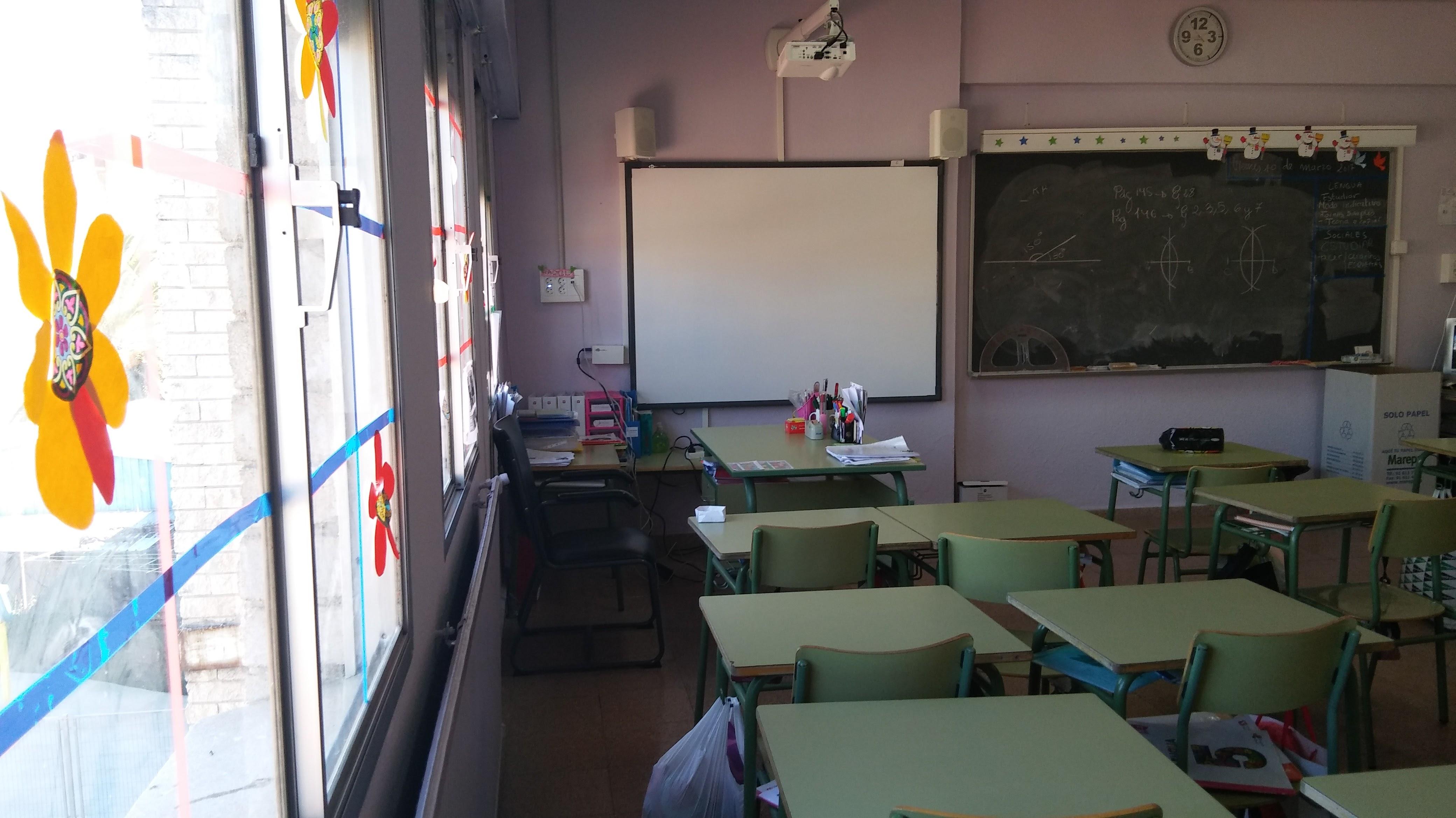 Aulas de Primaria 2