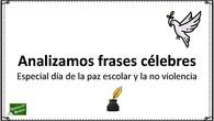 FRASES CELEBRES DE PAZ