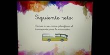 Reto: el autobús