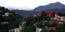 Shimla con el Himalaya al fondo