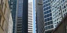 Reflejos en rascacielos