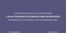 Actividades Extraescolares en la asignatura de Religión