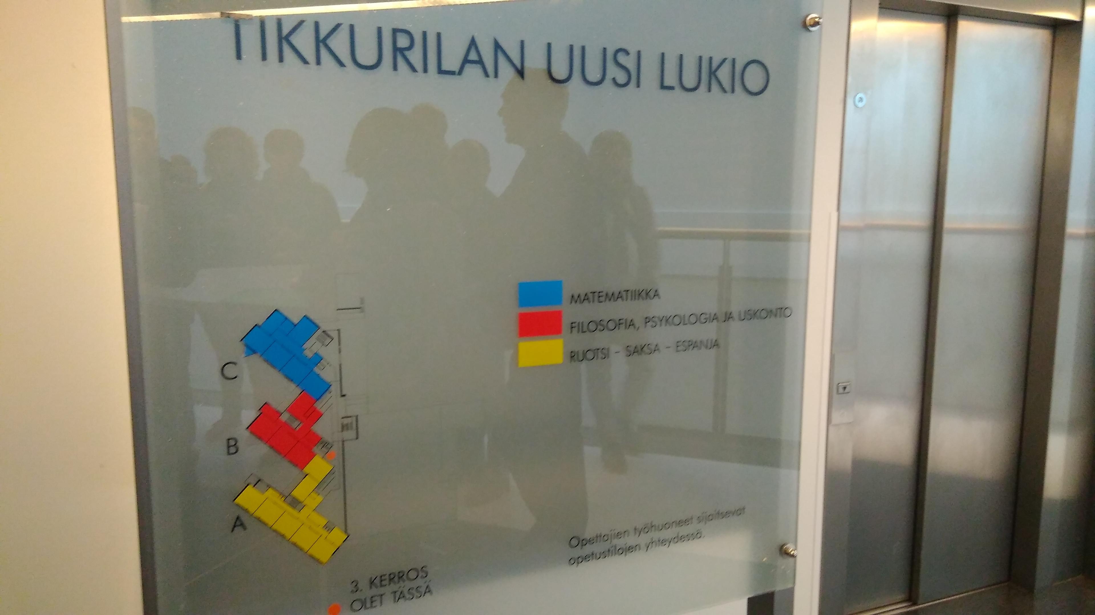Tikkurilan Lukio. Helsinki (Finlandia) Erasmus + 2018 18