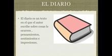PRIMARIA - 5º A - EL DIARIO - LENGUA Y LITERATURA