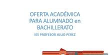Orientación académica para bachillerato