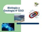 PRESENTACIÓN 4º ESO BIOLOGÍA Y GEOLOGÍA