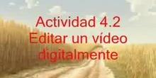 Actividad: edición de un video con Movie Maker.
