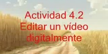 Actividad: edición de un video con Movie Maker.
