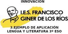 Innovación en el IES GINER DE LOS RÍOS, Alcobendas. 3 - Ejemplo de aplicación práctica