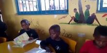 2019_10_10_Biblioteca de Kumwenya School_Video agradecimiento_CEIP FDLR_Las Rozas