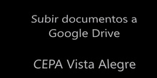 Subir archivos a Google Drive