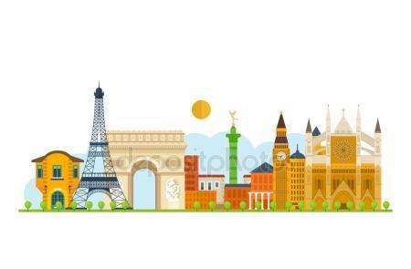 fotos edificios de Europa para pintura patio 3